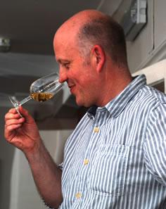 Wine tasting expert Tim Syrad - Owner of Taste of the Grape